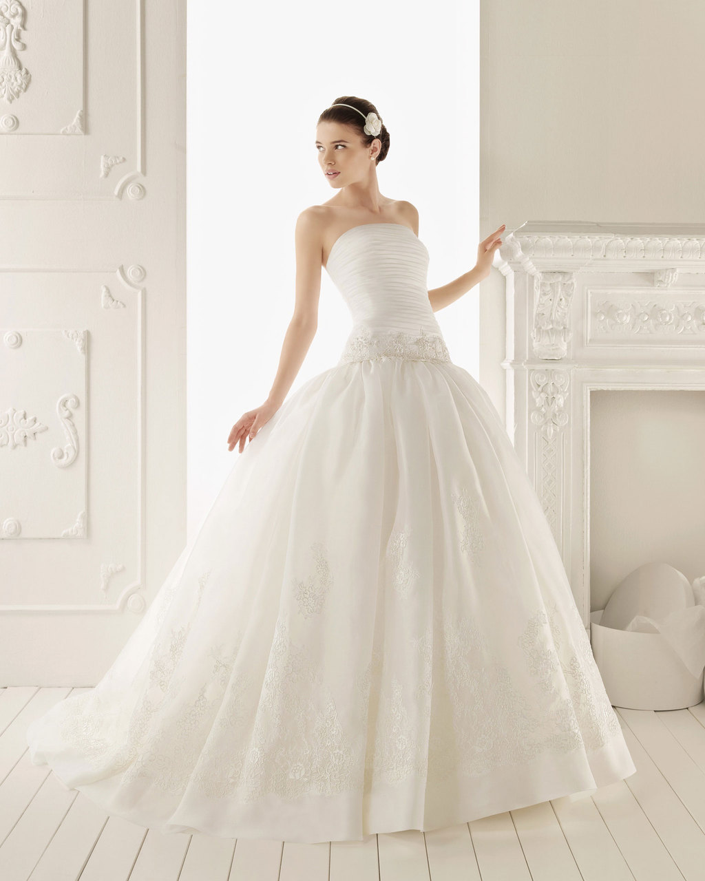 2013 wedding dress Aire Barcelona bridal gowns rebeca