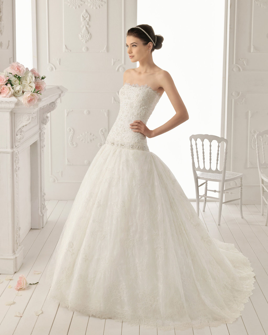 2013 wedding dress Aire Barcelona bridal gowns redil