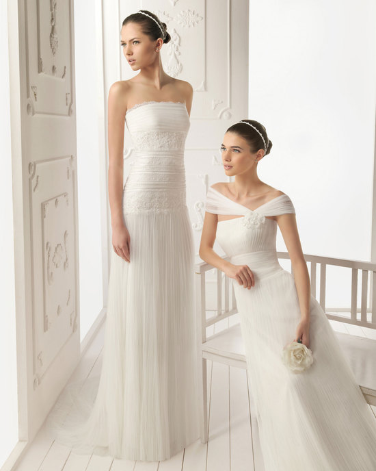 2013 wedding dress Aire Barcelona bridal gowns reina