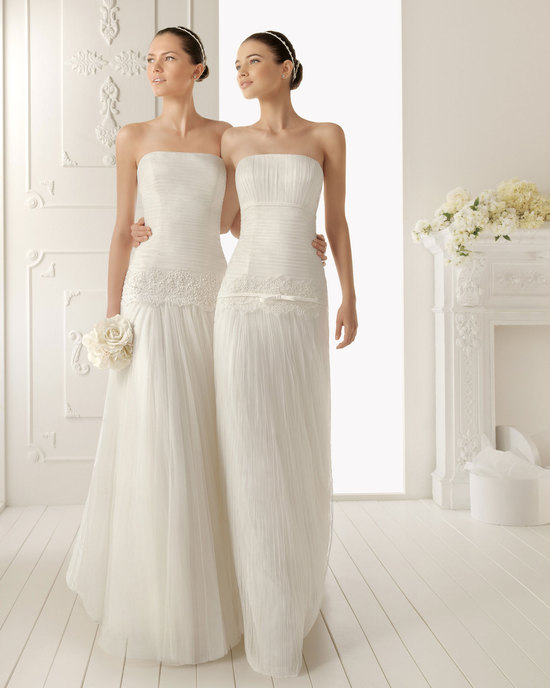2013 wedding dress Aire Barcelona bridal gowns reinosa