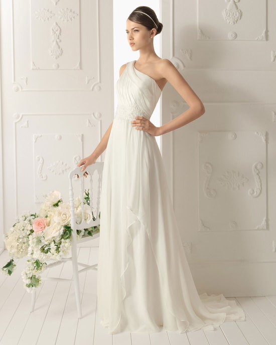 2013 wedding dress Aire Barcelona bridal gowns remir