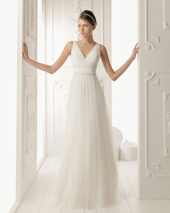 2013 wedding dress Aire Barcelona bridal gowns rene