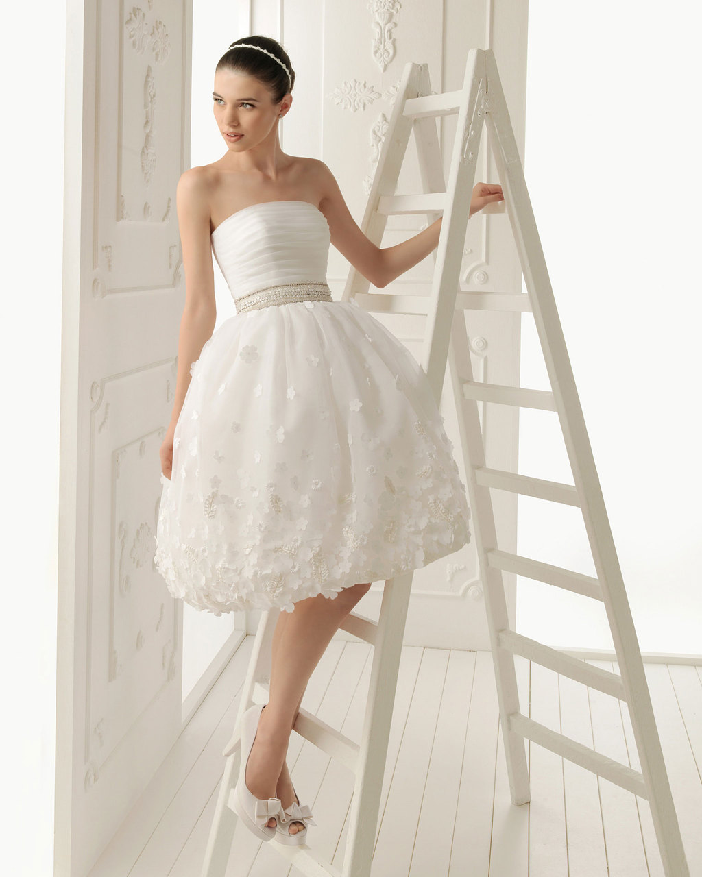 2013 wedding dress Aire Barcelona bridal gowns reus