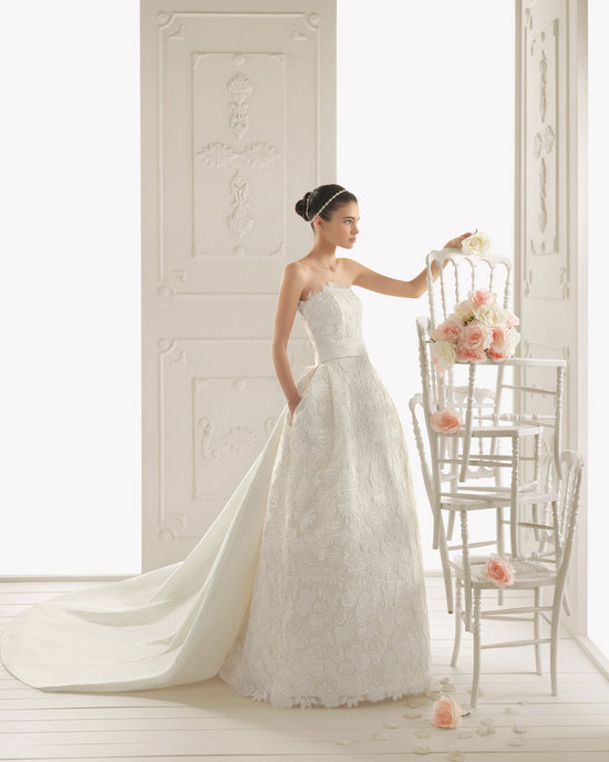 2013 wedding dress Aire Barcelona bridal gowns rialto