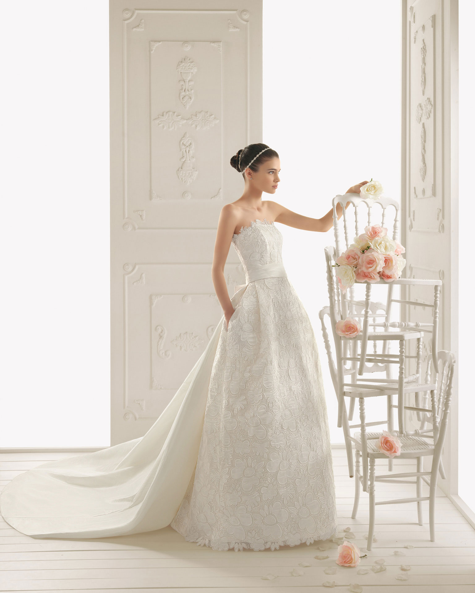 2013 wedding dress aire barcelona bridal gowns rialto for Wedding dresses in barcelona spain