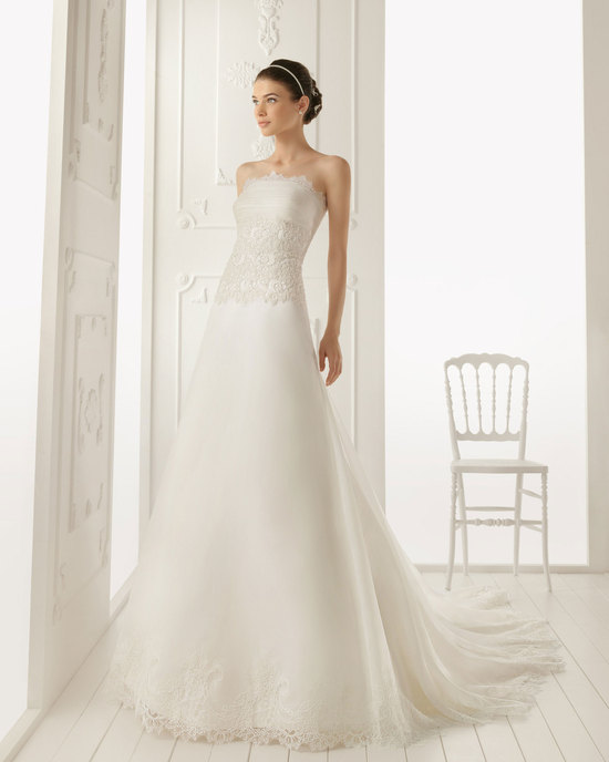 2013 wedding dress Aire Barcelona bridal gowns rioja