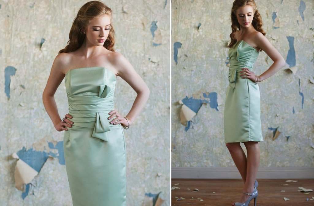 ruche bridesmaids dresses afforadable stylish bridal party attire 3