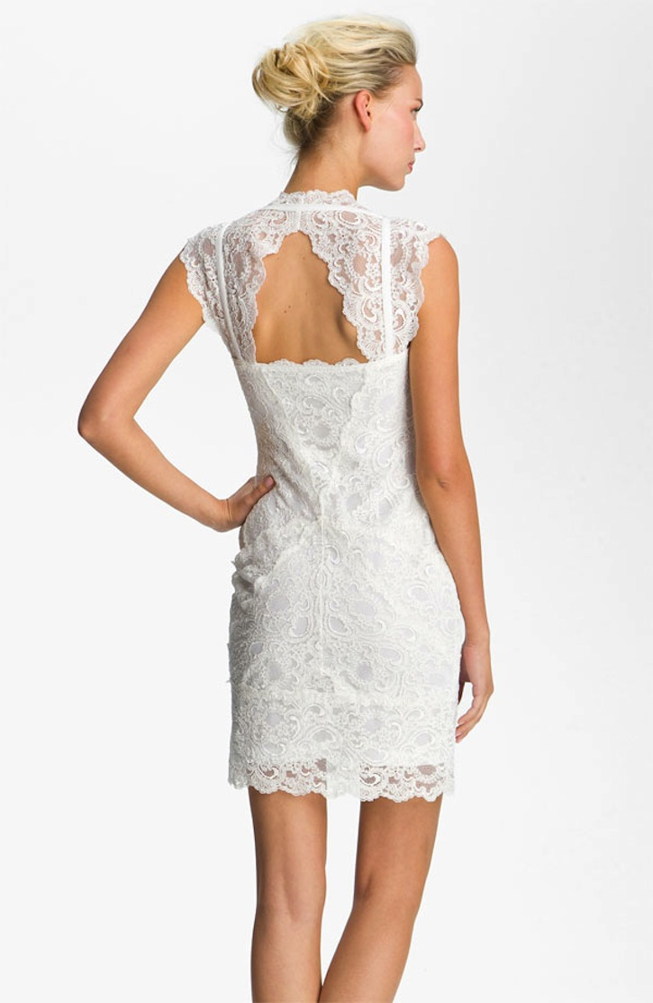 Lace Little White Wedding Dresses For The Wedding