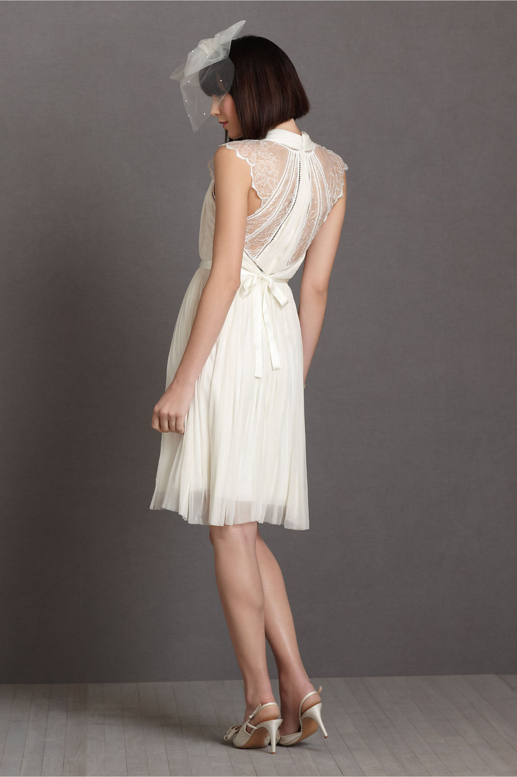 Lace LWD from BHLDN for vintage brides