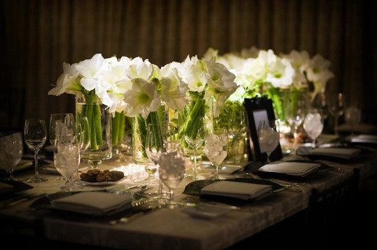 white wedding flowers we love amaryllis