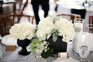 photo of Billowy Hydrangea Wedding Flower Inspiration
