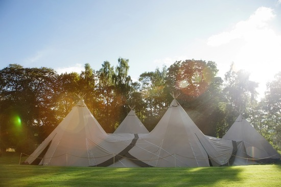 photo of Your First Dance Beneath... a Teepee?