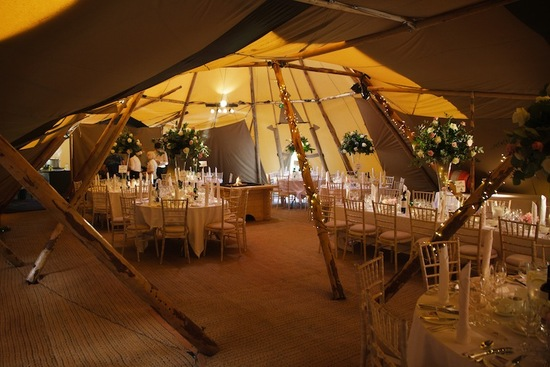 unique wedding venue ideas teepees