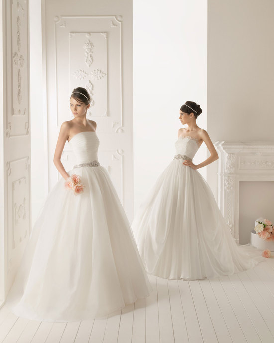 2013 wedding dress Aire Barcelona bridal gowns rissel