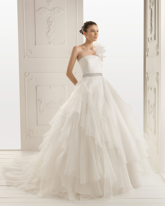 2013 wedding dress Aire Barcelona bridal gowns rita