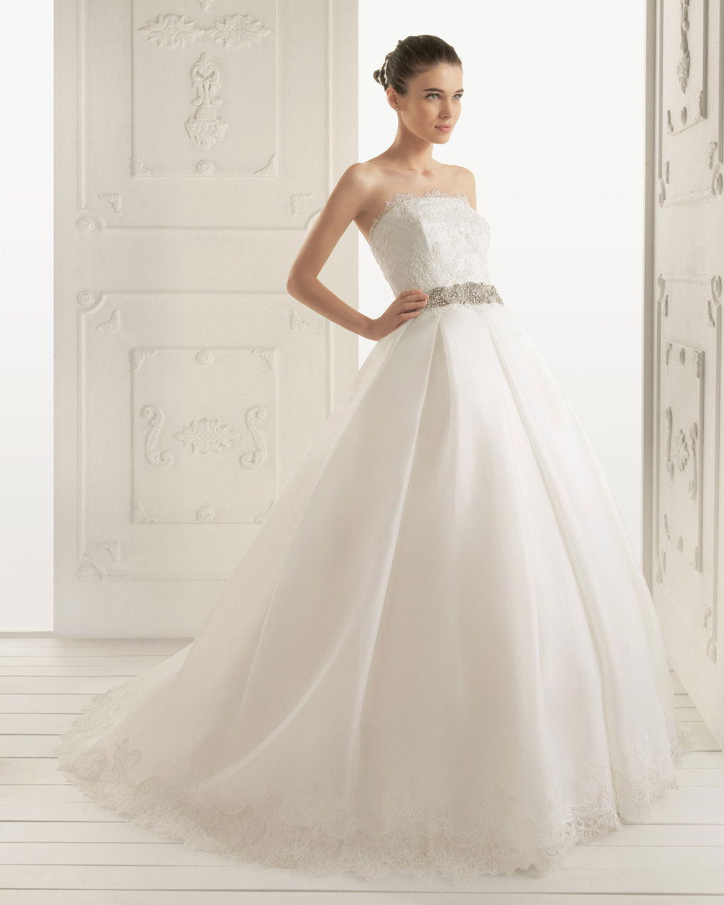 2013 wedding dress Aire Barcelona bridal gowns rivera