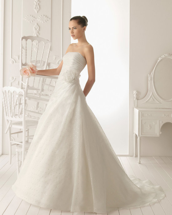 2013 wedding dress Aire Barcelona bridal gowns rober