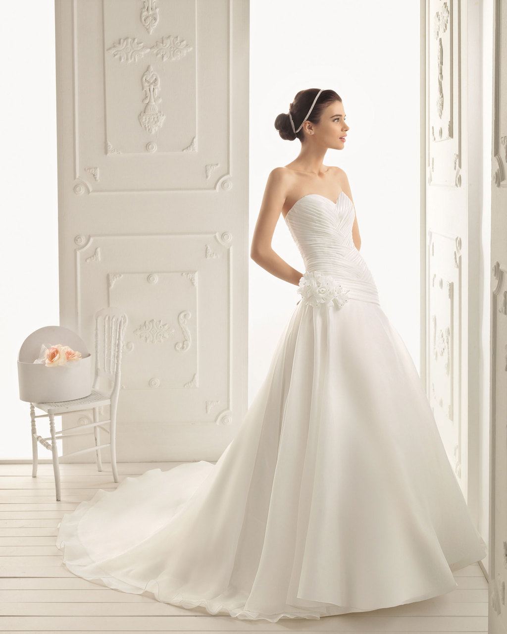 2013 wedding dress Aire Barcelona bridal gowns robin