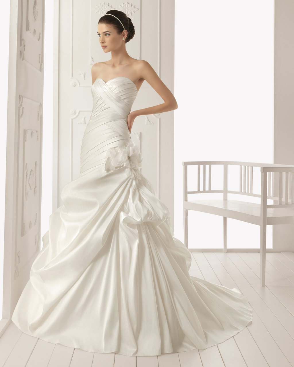 2013 wedding dress Aire Barcelona bridal gowns rock