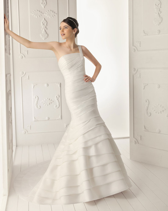 2013 wedding dress Aire Barcelona bridal gowns rodano