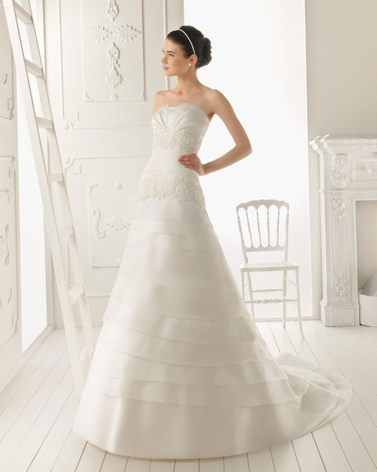 2013 wedding dress Aire Barcelona bridal gowns rodas