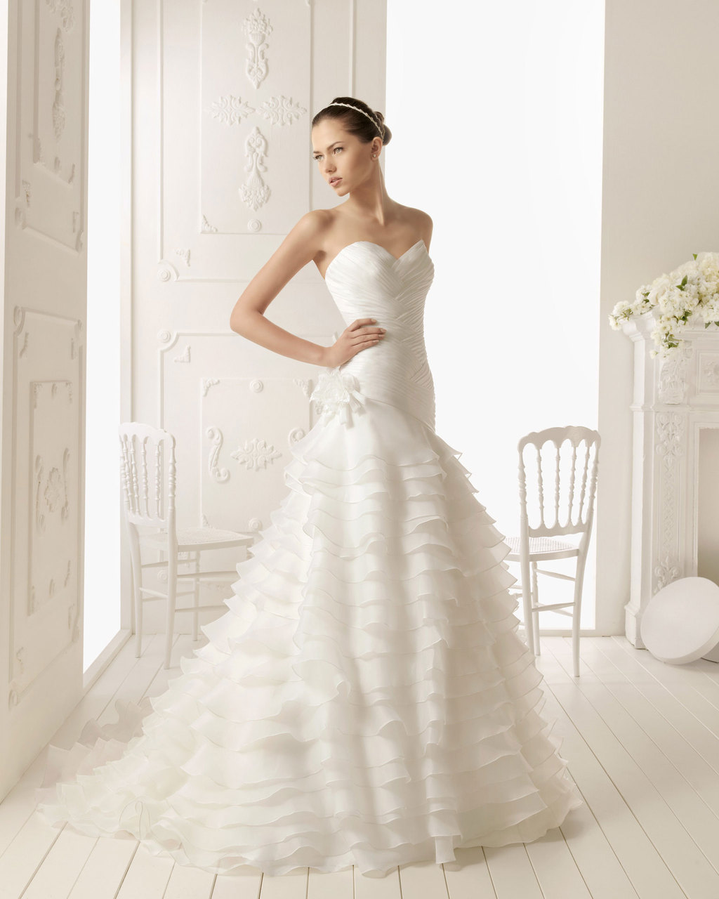 2013 wedding dress Aire Barcelona bridal gowns roger