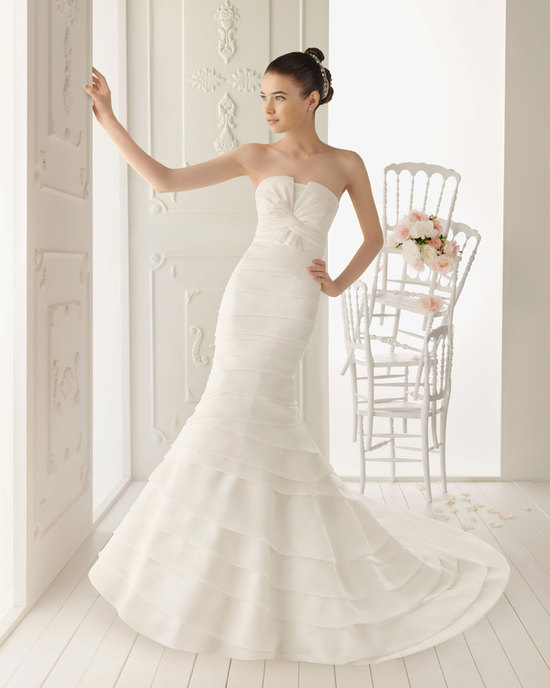 2013 wedding dress Aire Barcelona bridal gowns rolan