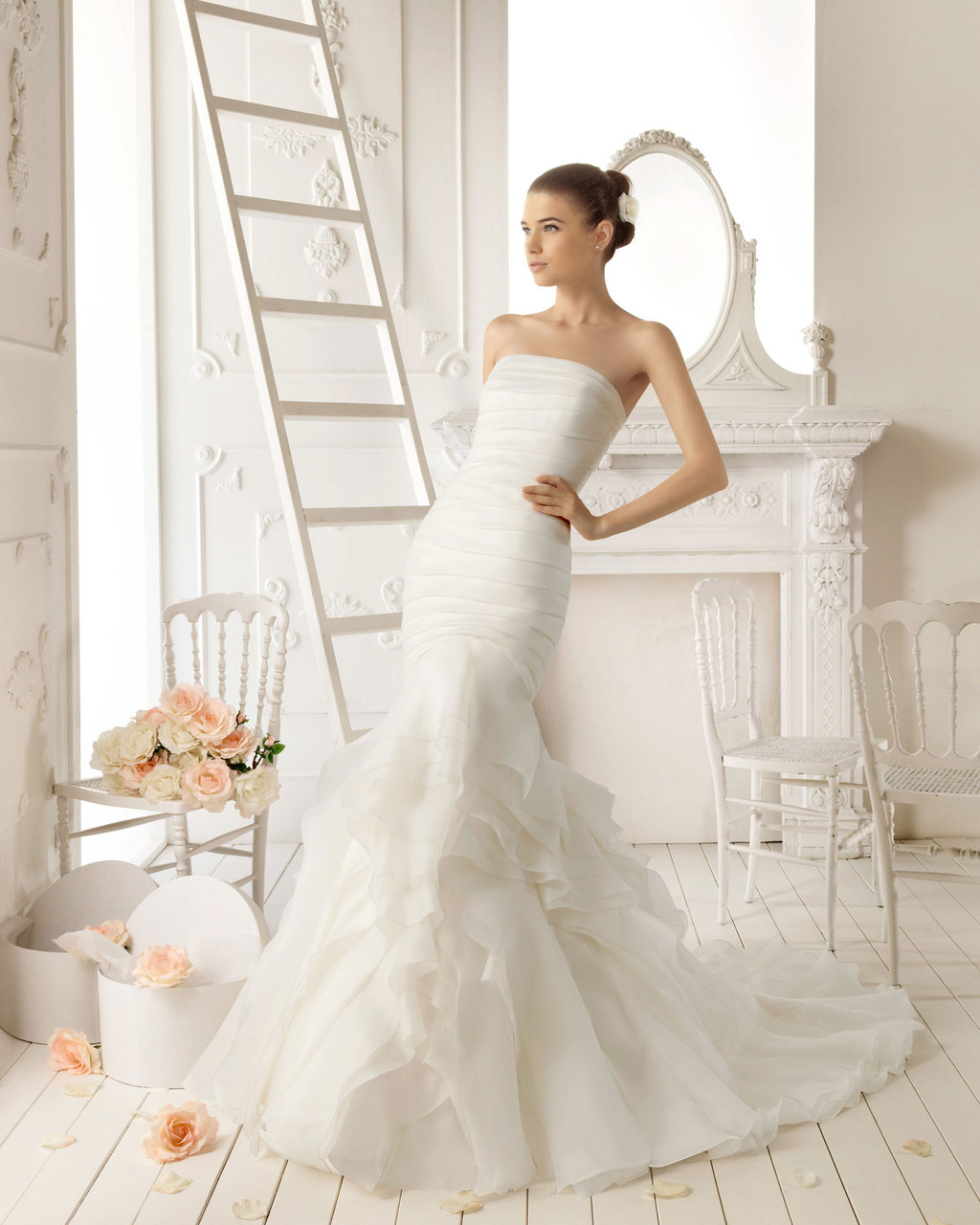 2013 wedding dress Aire Barcelona bridal gowns roma