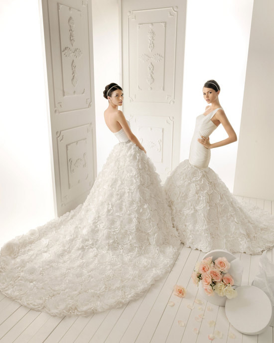 2013 wedding dress Aire Barcelona bridal gowns romero