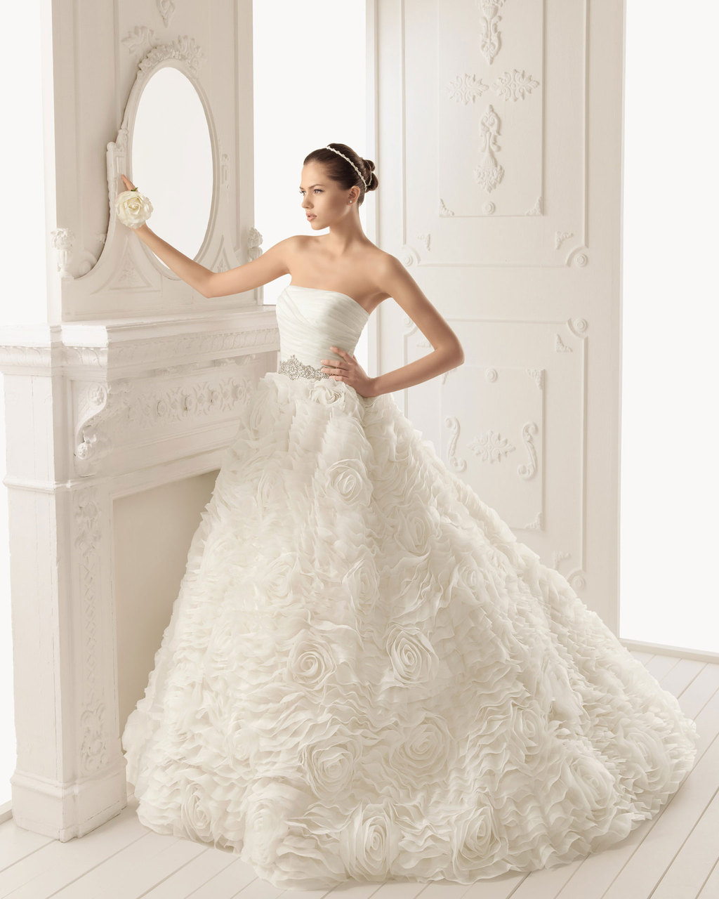2013 wedding dress Aire Barcelona bridal gowns ron