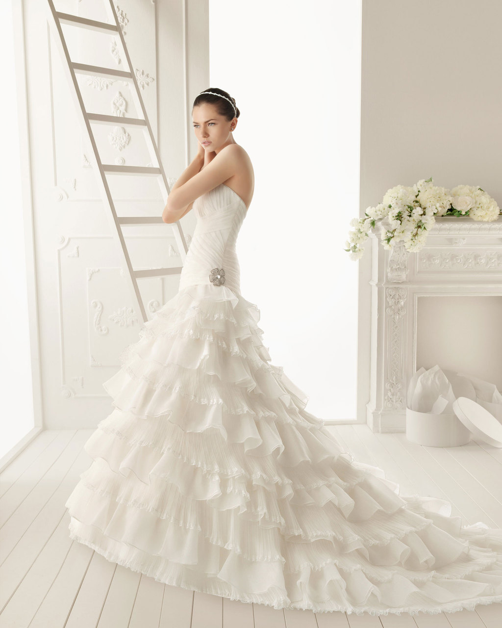 2013 wedding dress Aire Barcelona bridal gowns ronda
