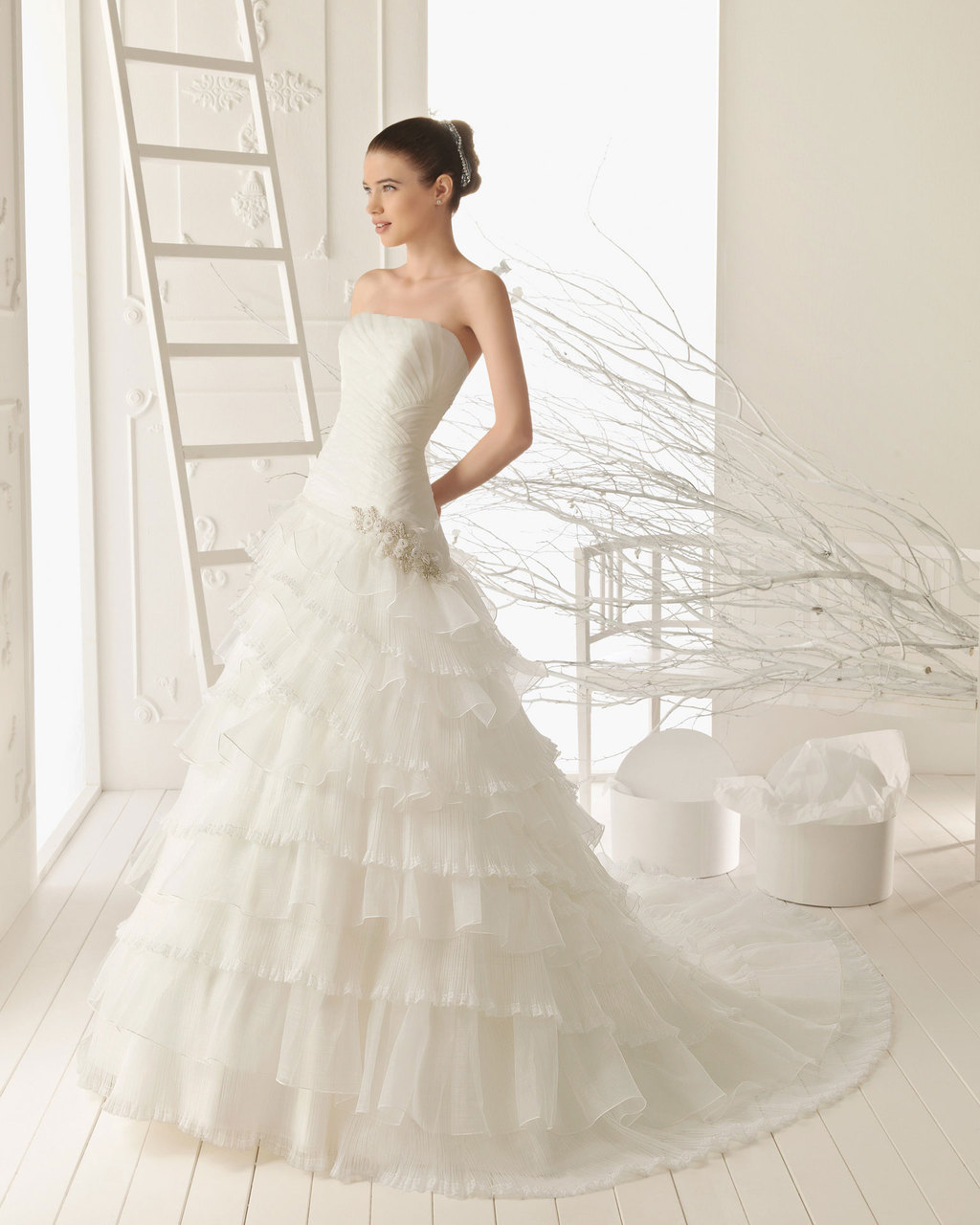 2013 wedding dress Aire Barcelona bridal gowns rosalba