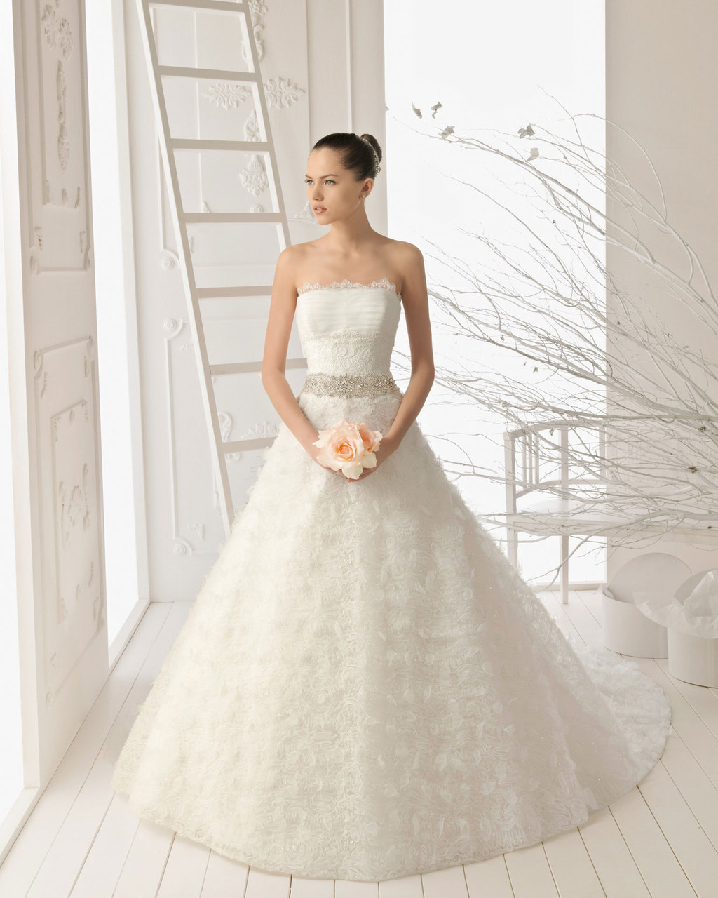 2013 wedding dress Aire Barcelona bridal gowns rosalia