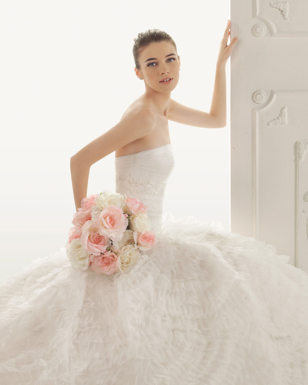2013 wedding dress Aire Barcelona bridal gowns rosaura