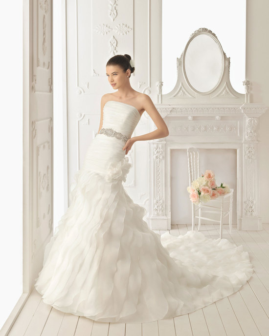 2013 wedding dress Aire Barcelona bridal gowns rosellon