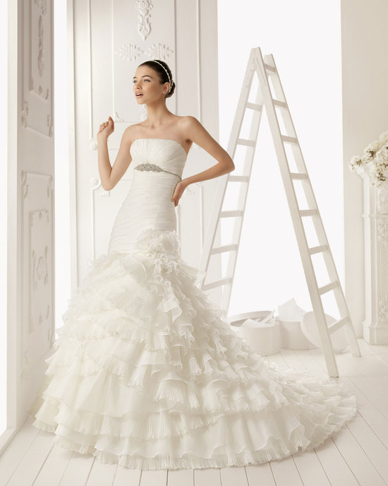 2013 wedding dress Aire Barcelona bridal gowns rosetta