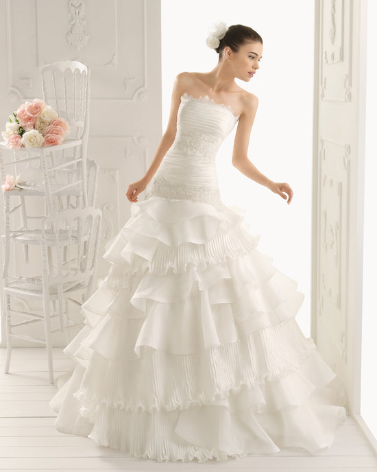 2013 wedding dress Aire Barcelona bridal gowns royal