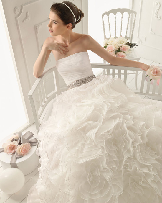 2013 wedding dress Aire Barcelona bridal gowns rubi