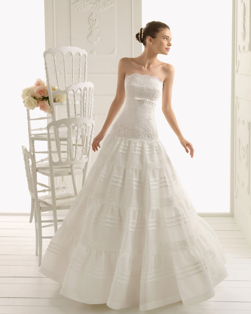 2013 wedding dress Aire Barcelona bridal gowns rumania