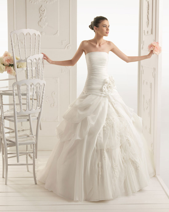 2013 wedding dress Aire Barcelona bridal gowns rumba