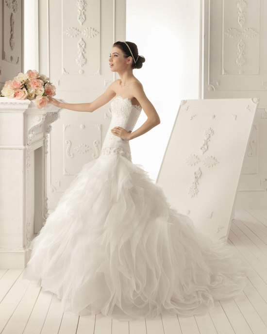 2013 wedding dress Aire Barcelona bridal gowns rumor