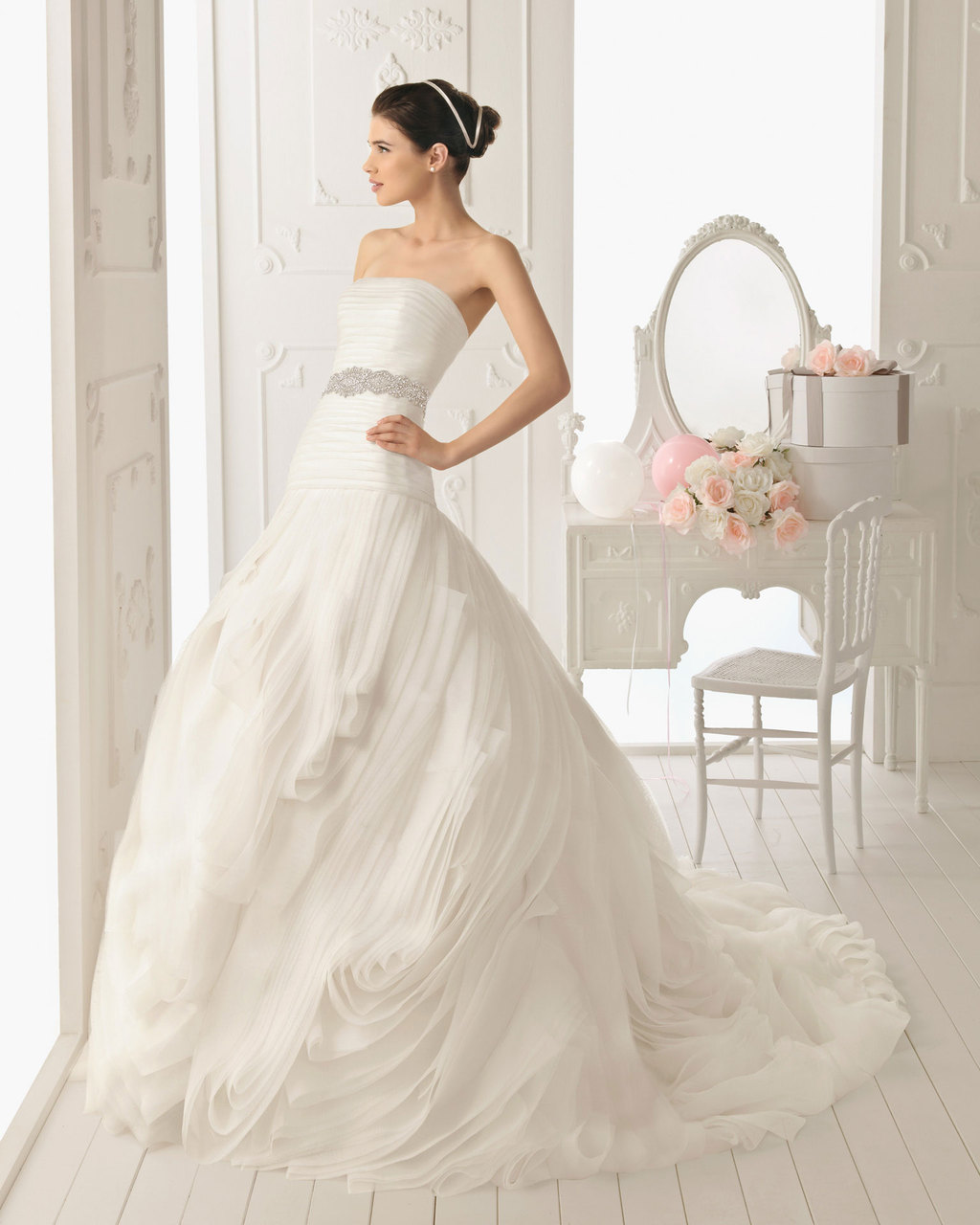 2013 wedding dress Aire Barcelona bridal gowns rupit