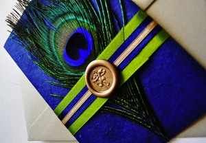 photo of Peacock Invitations