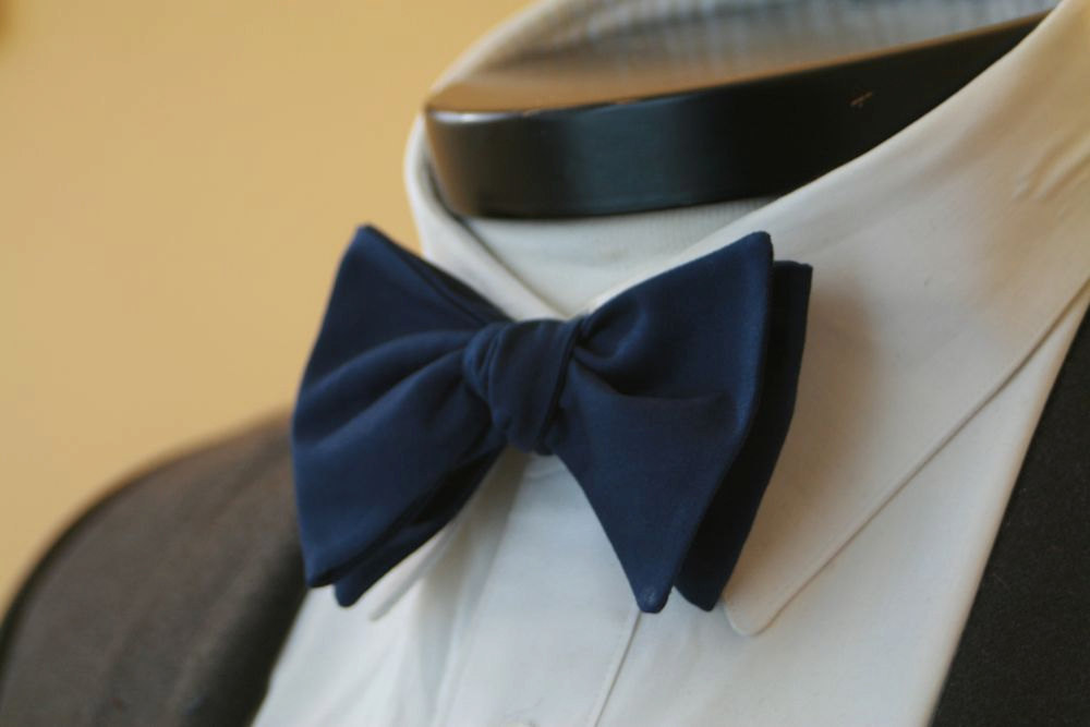 wedding color inspiration navy blue bridal wedding finds grooms bow tie