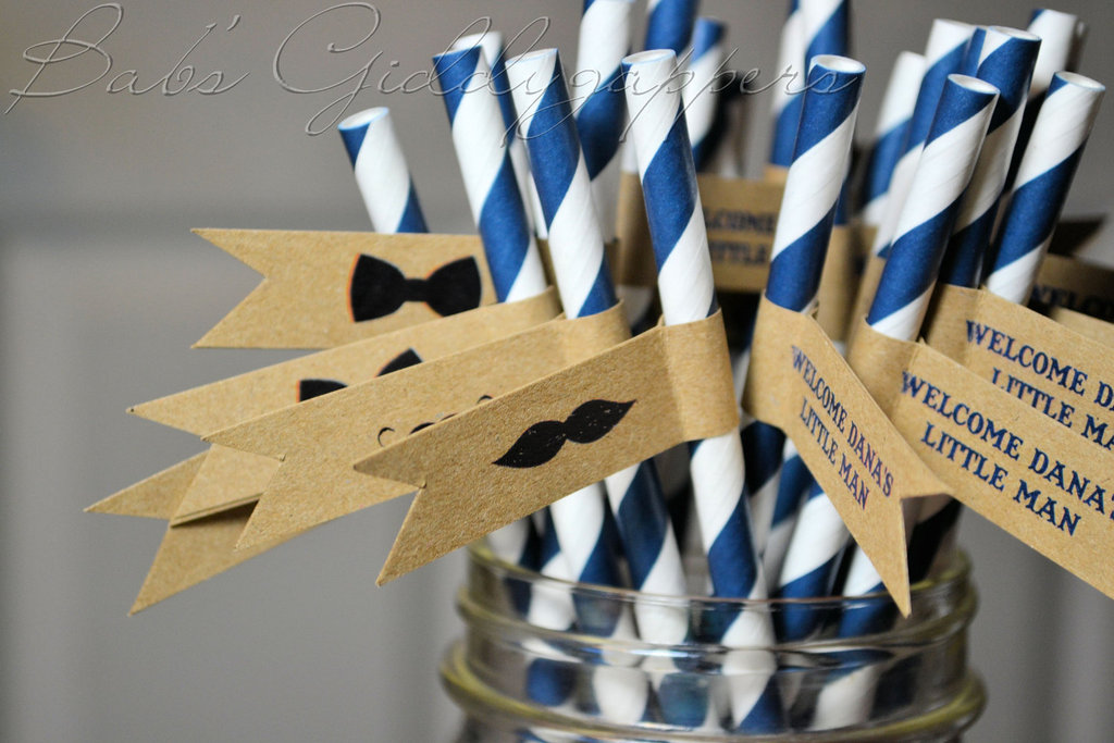 wedding color inspiration navy blue ceremony reception finds cocktail straws