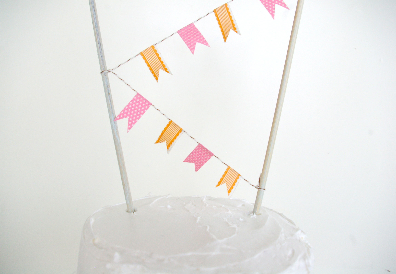 Топпер на торт из бумаги своими руками