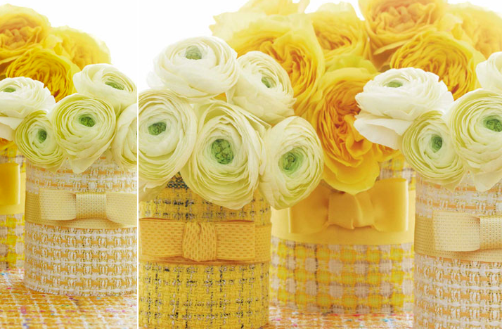 Summer wedding diy ideas chanel inspired couture vases for Diy wedding ideas for summer