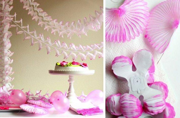 Summer-wedding-diy-ideas-ombre-pink-reception-paper-decor.full