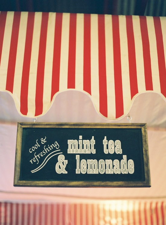 wedding-santa-barbara-chic-outdoor-barn-circus-fair-food-jose-villa-unique-wedding-appetizers-lemonade-stand-chalkboard-sign-13