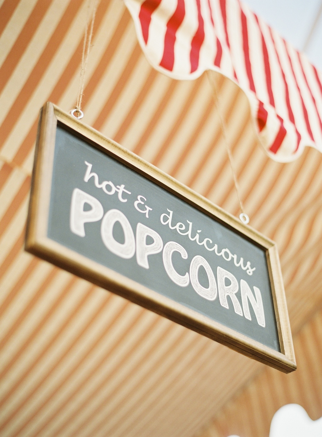 Wedding-santa-barbara-chic-outdoor-barn-circus-fair-food-jose-villa-unique-wedding-appetizers-popcorn-cute-signs-4.full